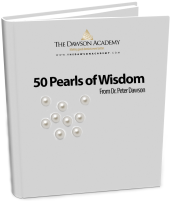 50 Pearls of Wisdom from Peter Dawson