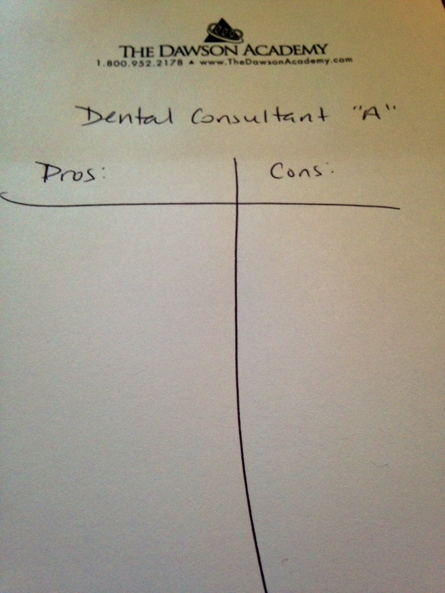 Finding the best dental consultant
