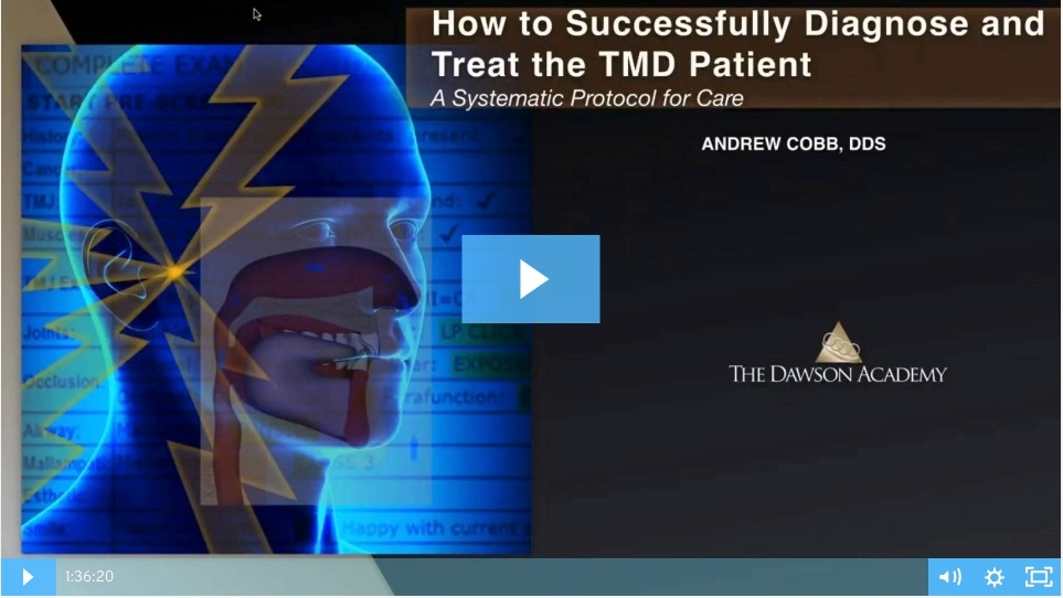 How to diagnose and treat TMJ issues
