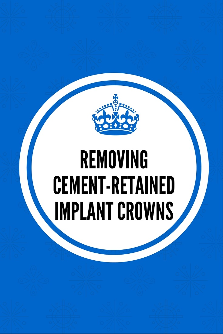 Permanent Cement-Retained Implant Crowns
