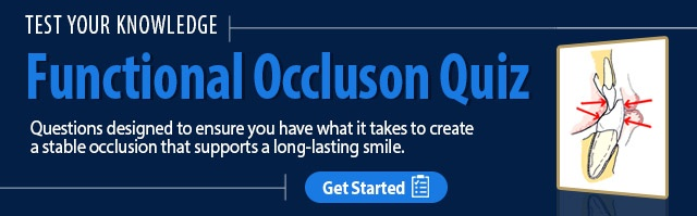 Functional Occlusion Quiz